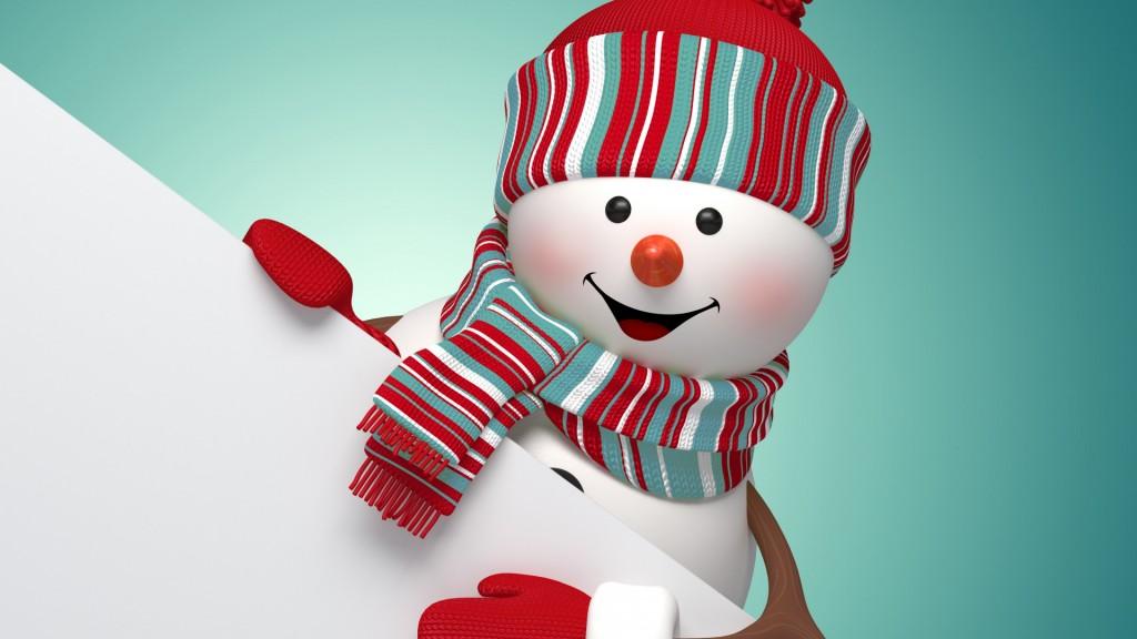 snowman-3d-cute-merry-7255
